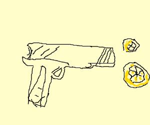 300x250 Gun That Shoots Lemons Instead Of Bullets