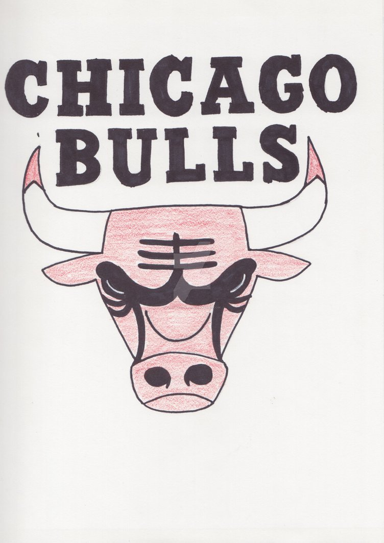 752x1063 Chicago Bulls Logo By Greenxkoala