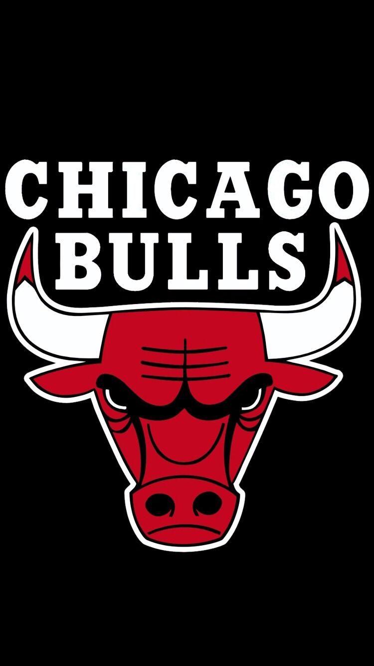 750x1334 Chicago Bulls Logo Basketball Chicago Bulls