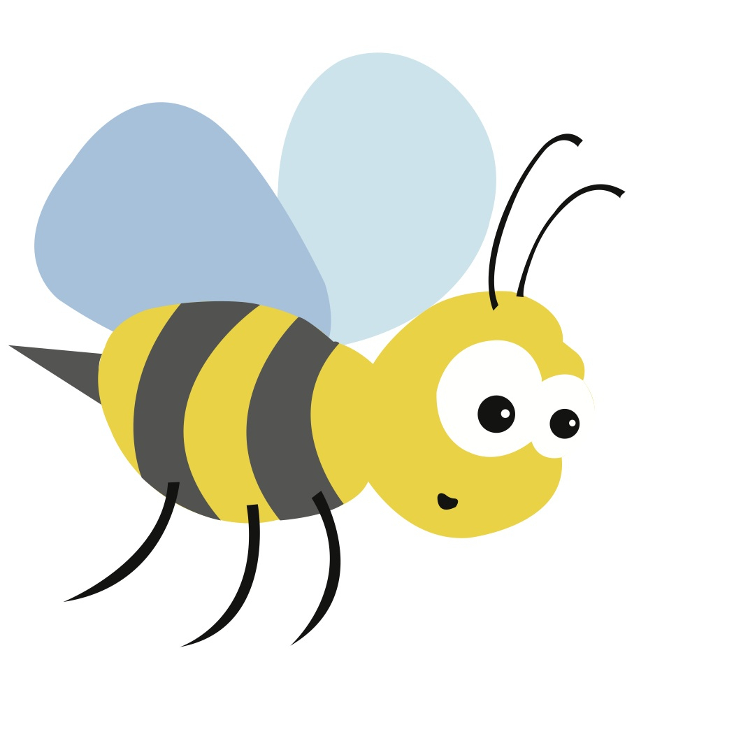 1050x1050 Simple Bumble Bee Drawing Free Svg File Download Bumble Bee