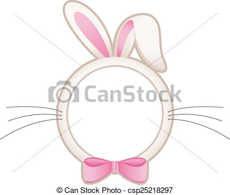 450x381 Scalable Vectorial Image Representing A Easter Bunny Head Eps