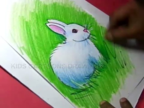 480x360 How To Draw Rabbit Drawing Step By Step For Kids