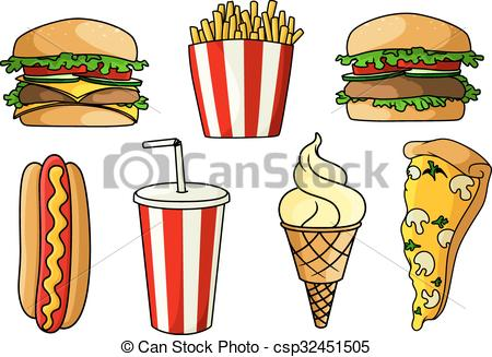 Burger And Fries Drawing At Getdrawingscom Free For Personal Use