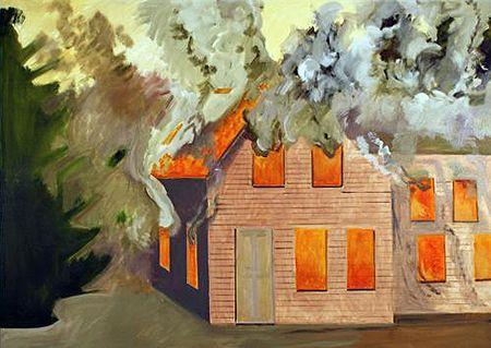 450x319 10 Best Burning House Images On Burning House, Art