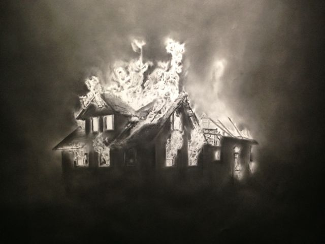 640x480 Burning House, 2014 By