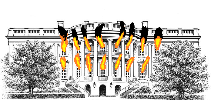 696x330 Burning Of The White House By Madgerman123