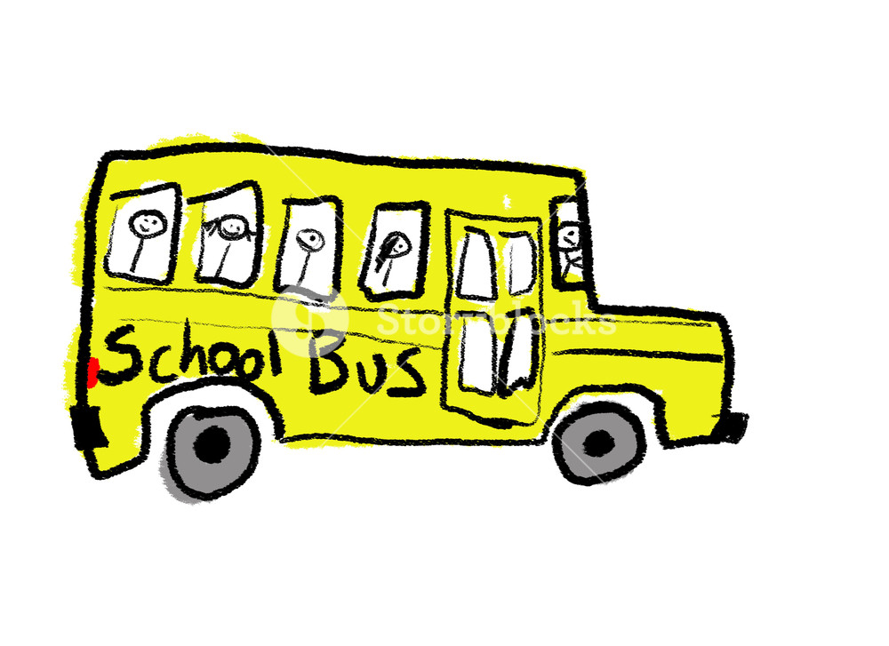 Bus Drawing Images at GetDrawings.com   Free for personal use Bus ...