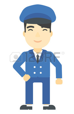 291x450 3,787 Bus Driver Stock Illustrations, Cliparts And Royalty Free