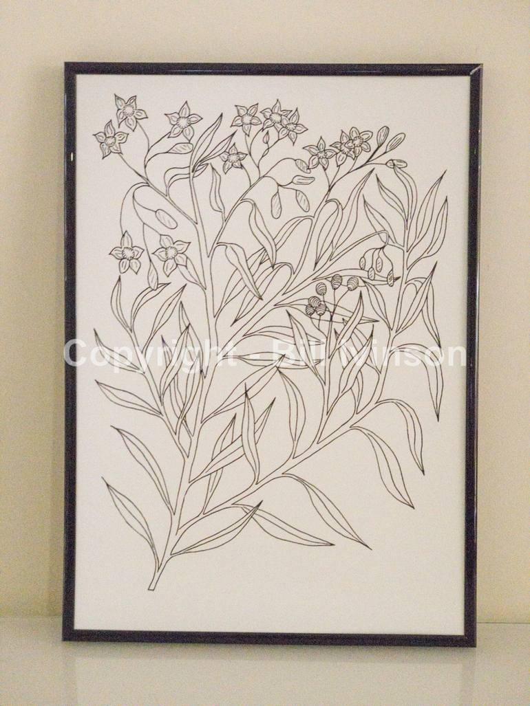 770x1027 Saatchi Art Australian Bush Plants