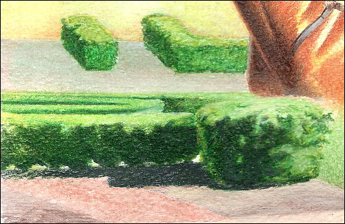 500x325 Using Dry Colored Pencils Over A Water Soluble Colored Pencil Drawing