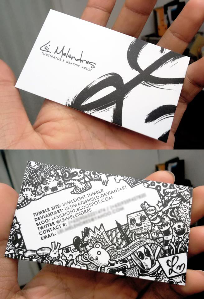 Business card drawing at getdrawings free for personal use 655x960 doodle business card by leimelendres on deviantart reheart Images
