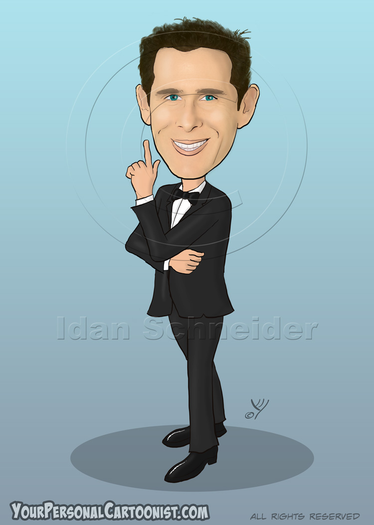 750x1053 Digital Caricatures From Photos Your Personal Cartoonist