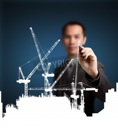 416x450 Photo Of Business Man Drawing