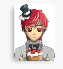 210x230 Butler Drawing Canvas Prints Redbubble