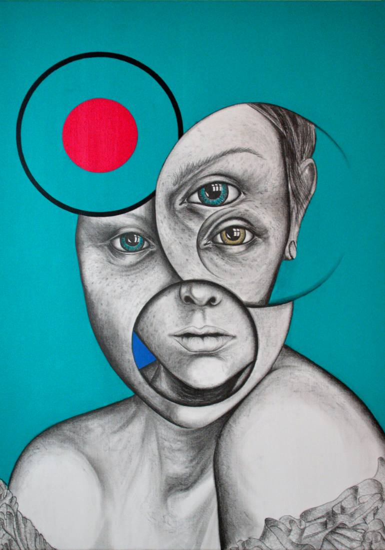 770x1098 Saatchi Art Spanish Eyes Drawing By Andy Butler