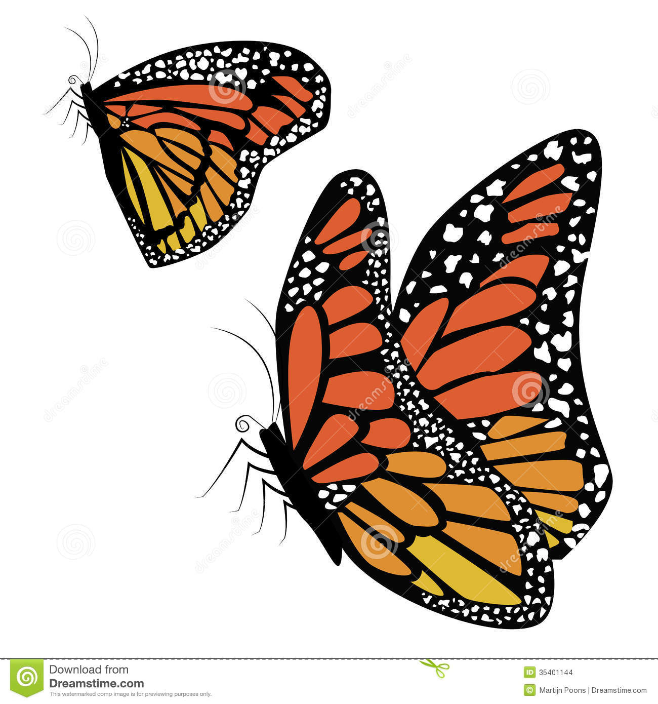 Butterflies Flying Drawing at GetDrawings.com | Free for ...