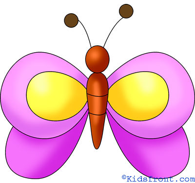 Butterflies For Kids Drawing at GetDrawingscom Free for personal