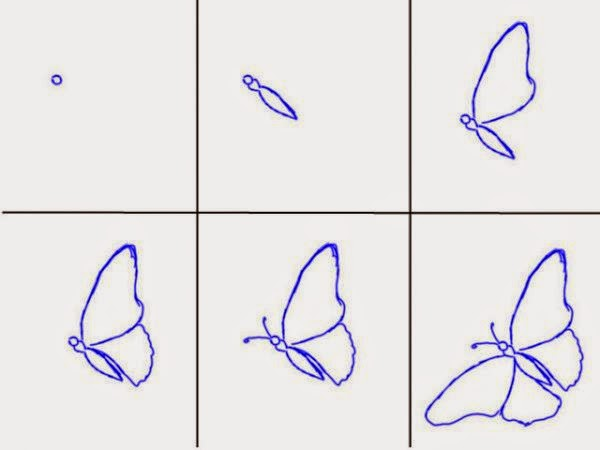 600x450 How To Draw A Beautiful Butterfly Step By Step