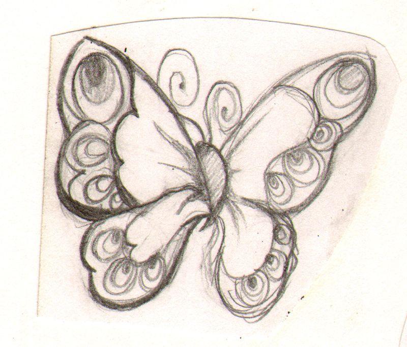 800x683 Joyful Butterfly Sketch Butterfly Sketch, Joyful And Butterfly