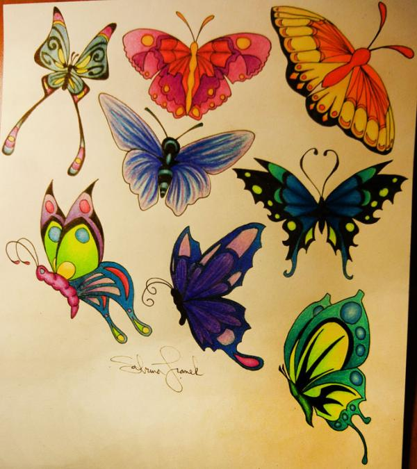 600x675 Amazing Butterfly Tattoo Designs Art And Design