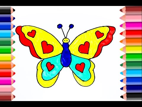 480x360 Coloring Pages Butterfly L Insect Drawing To Color For Kids