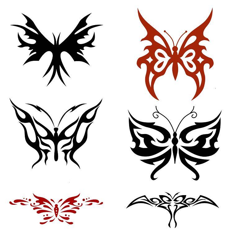 725x751 Butterfly Tattoos