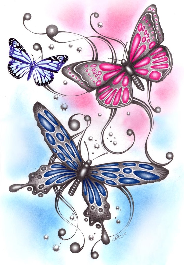 528041f36066d Butterfly Drawing Tattoo at GetDrawings.com | Free for personal use ...