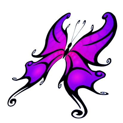 413x413 butterfly clipart
