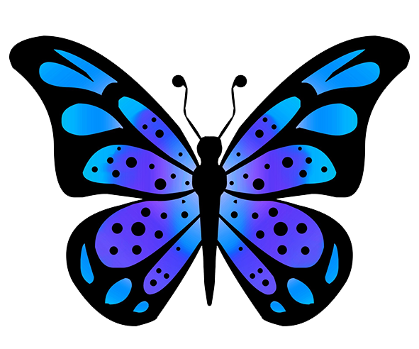 591x492 butterfly clipart