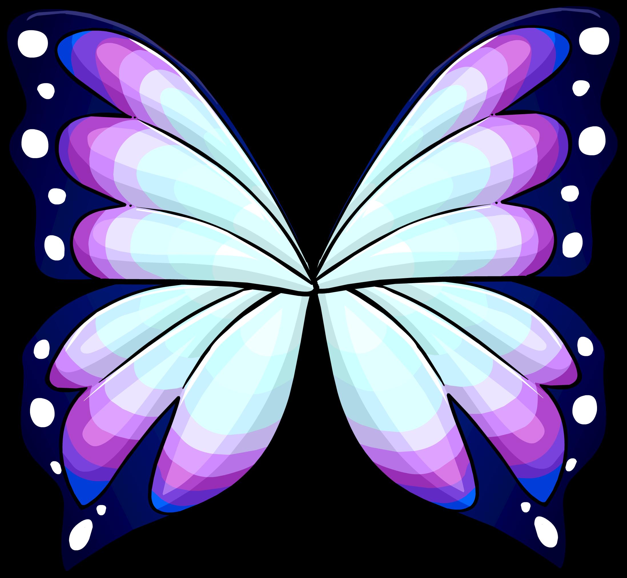 2196x2025 Purple Butterfly Wings Club Penguin Wiki Fandom Powered By Wikia