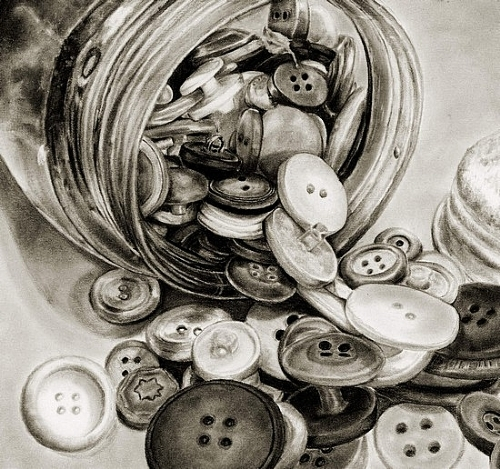 500x469 Drawings Of Buttons