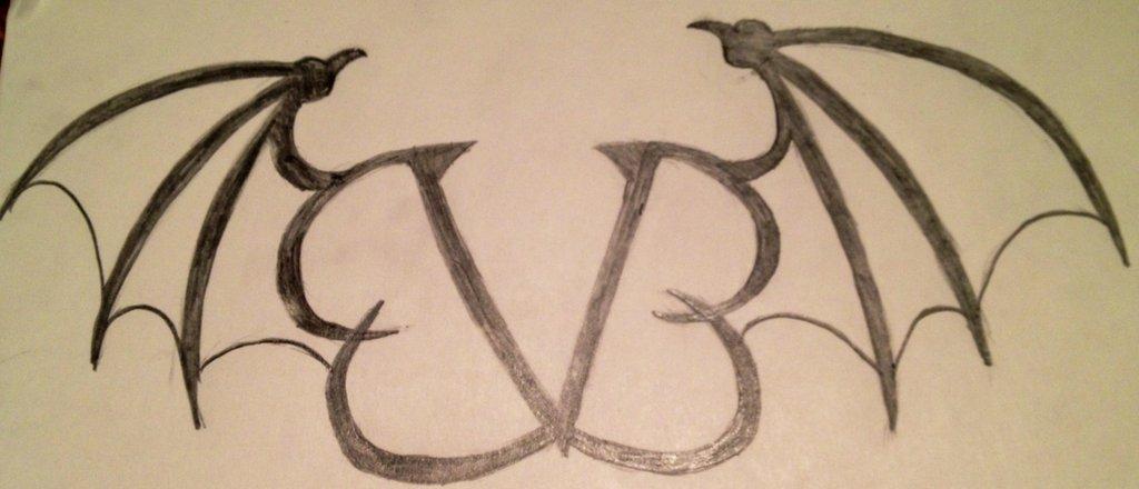1024x440 Black Veil Brides Symbol By Izzabella2014