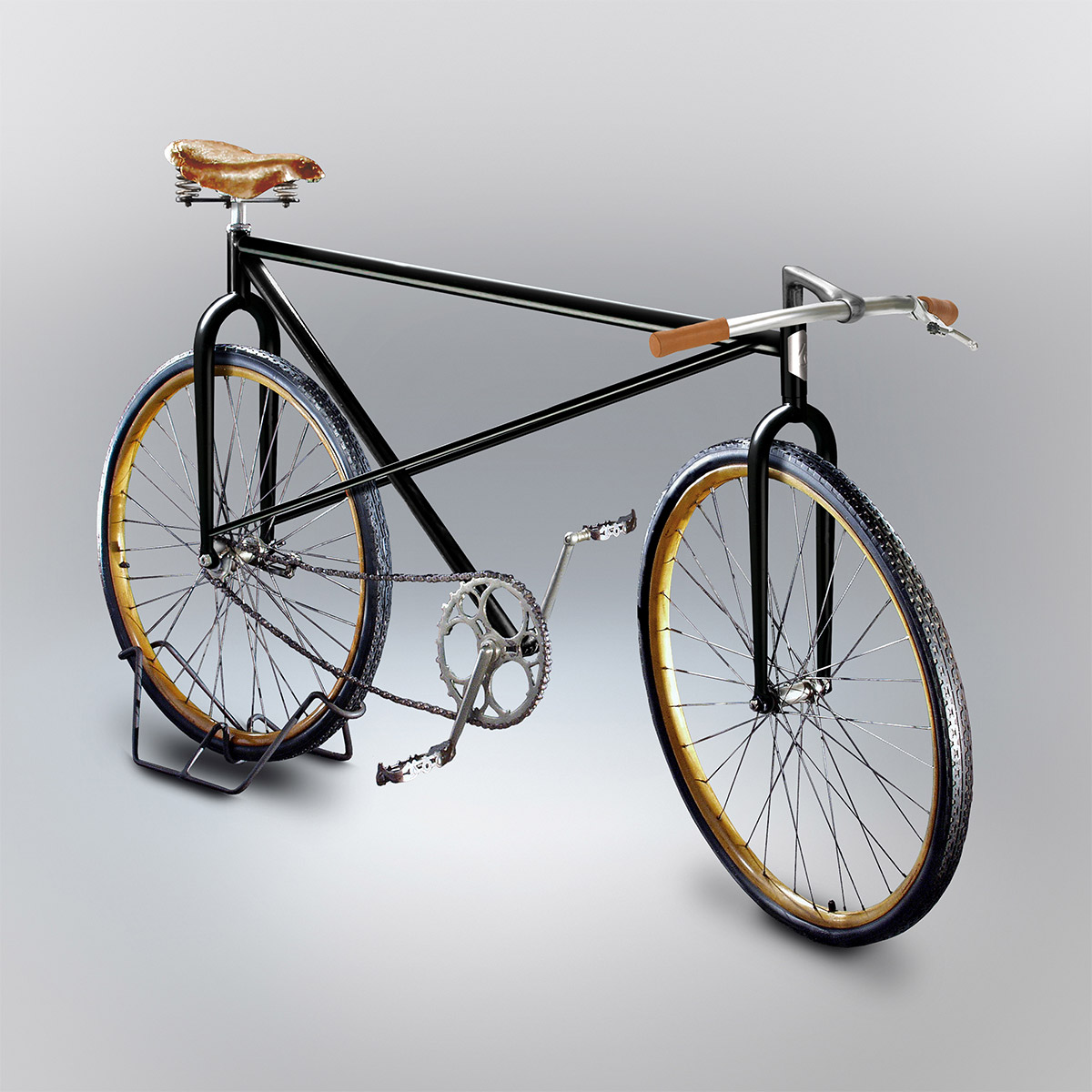 1200x1200 Bicycles Built Based On People's Attempts To Draw Them From Memory