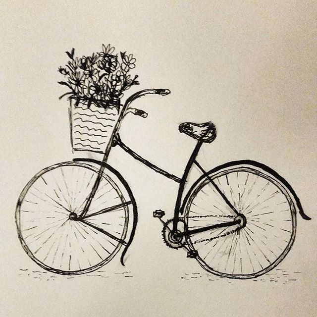 640x640 Bike Ride Vintage