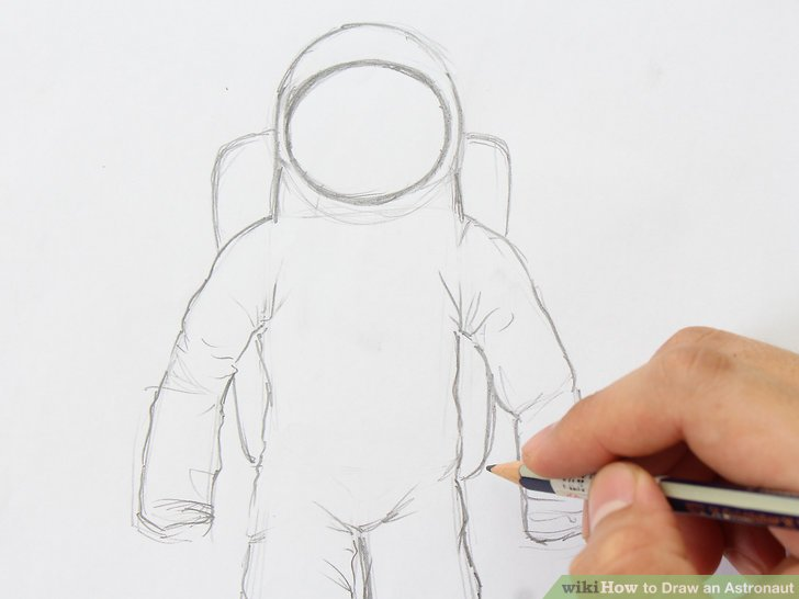 728x546 How To Draw An Astronaut (With Pictures)
