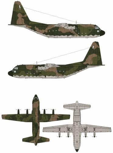372x500 Blueprints Gt Modern Airplanes Gt Lockheed Gt Lockheed C 130 Hercules