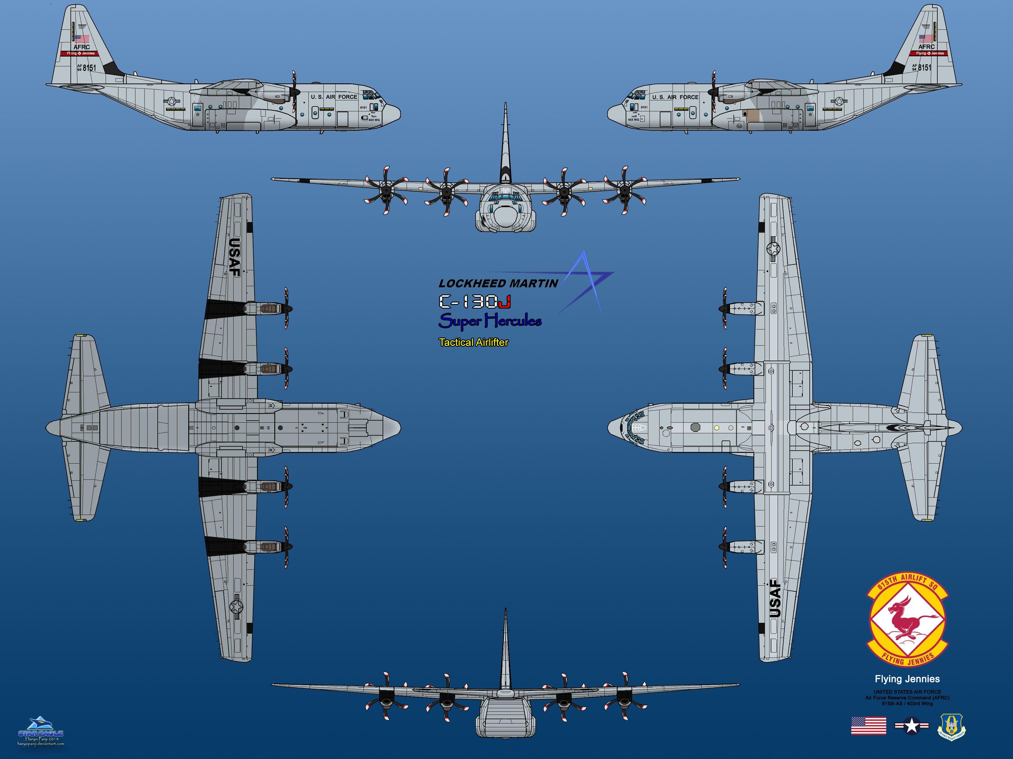3508x2631 Lockheed Martin C 130j Super Hercules By Haryopanji