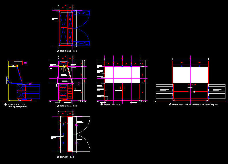 801x576 Cad Details Joinery