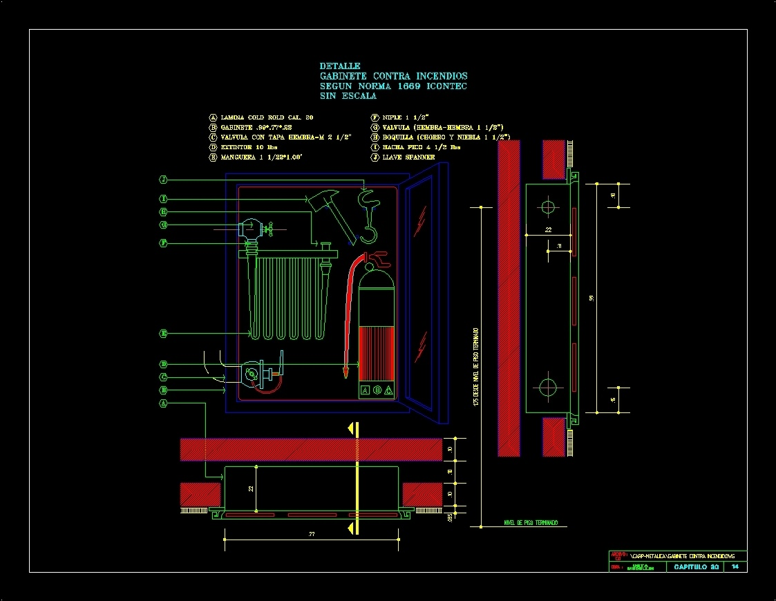 1123x870 Cabinets Against Fire Dwg Detail For Autocad Designs Cad