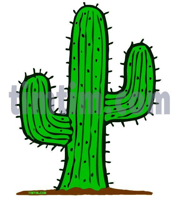 Cactus Cartoon Drawing At Getdrawings