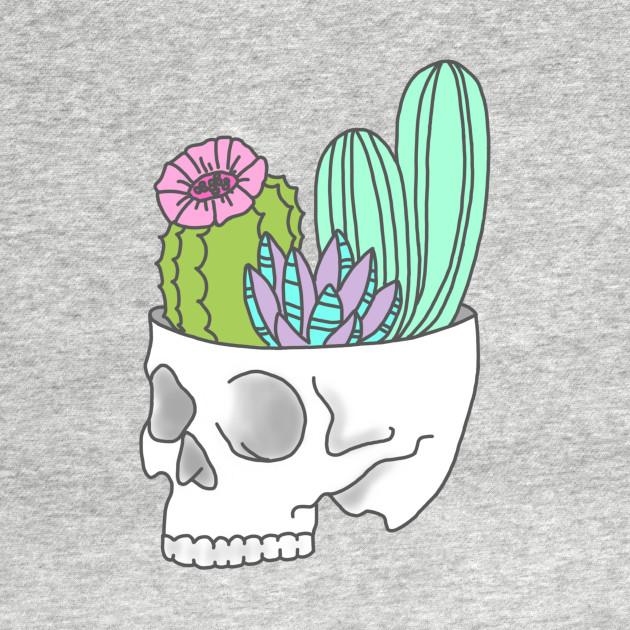 630x630 Skull Succulent Feminist Skeleton Cactus Southwest Girly Tumblr