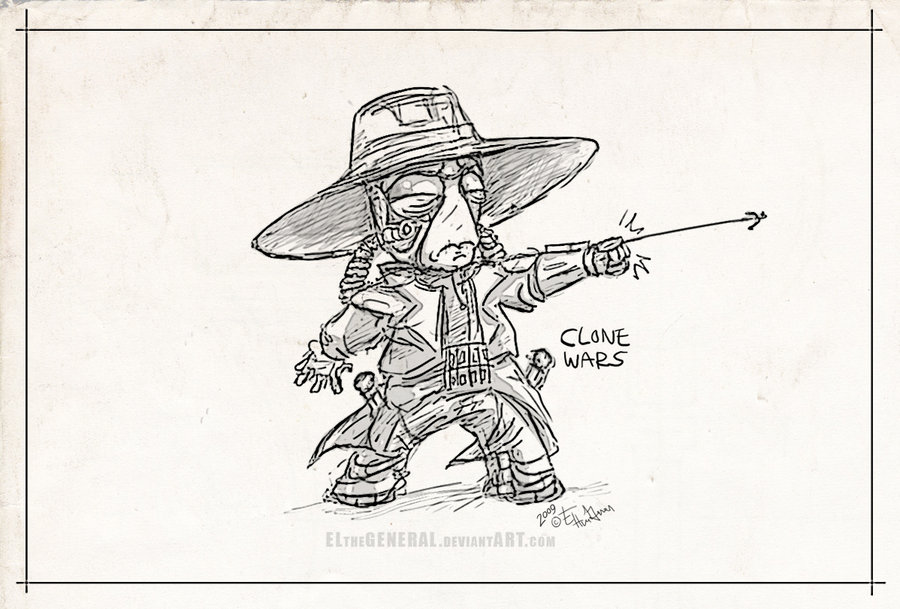 900x609 Baby Cad Bane Clone Wars By Elthegeneral