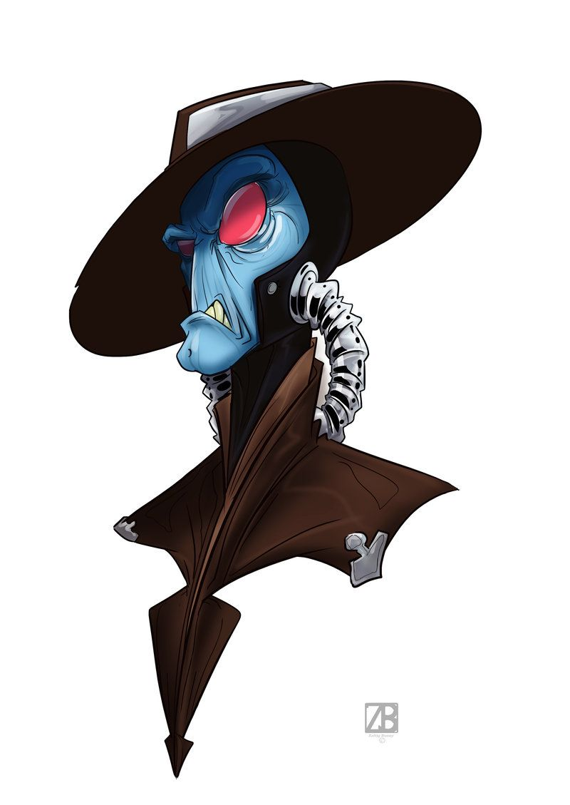 800x1129 Cad Bane By On @ Star