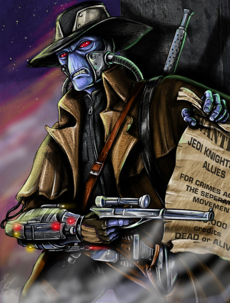 779x1026 The Notorious Cad Bane By Jlonnett