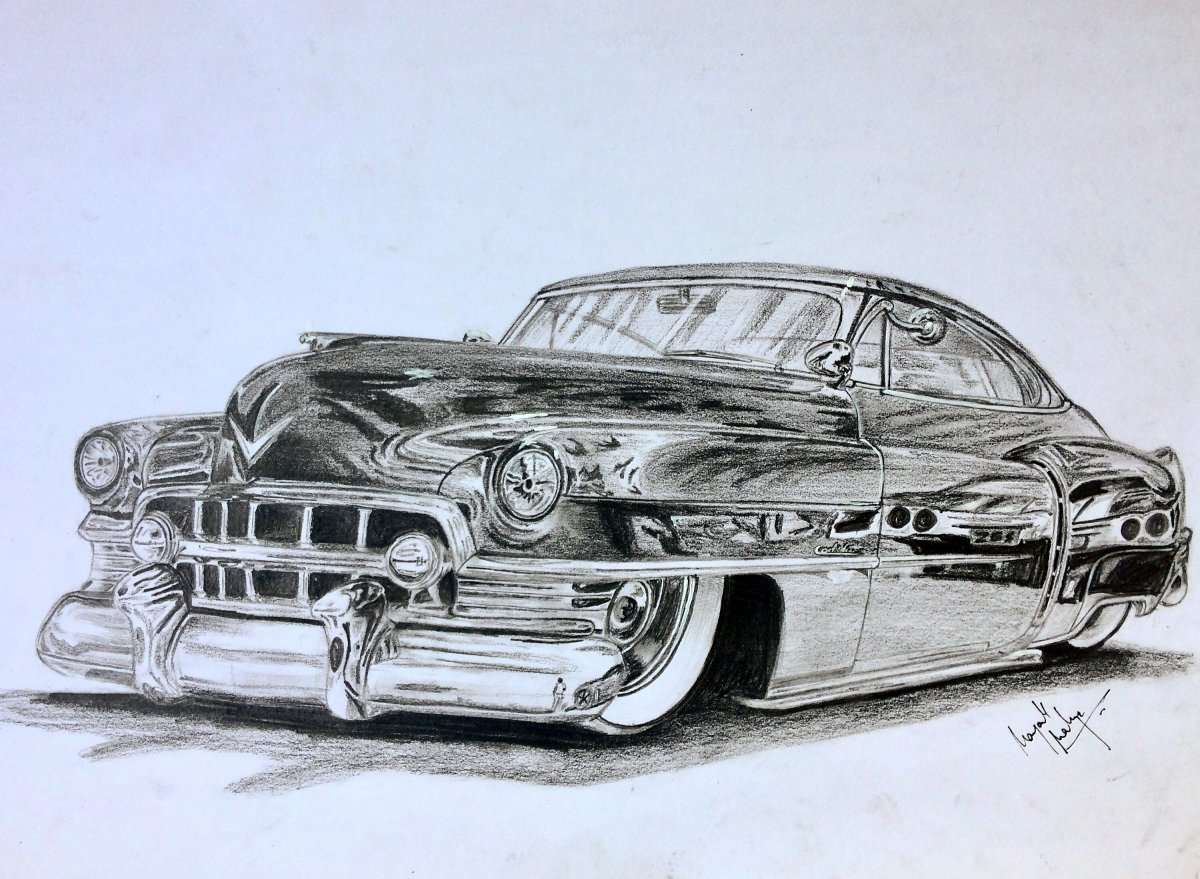 Cadillac Drawing At Free For Personal Use 472 Engine Diagram 1200x879