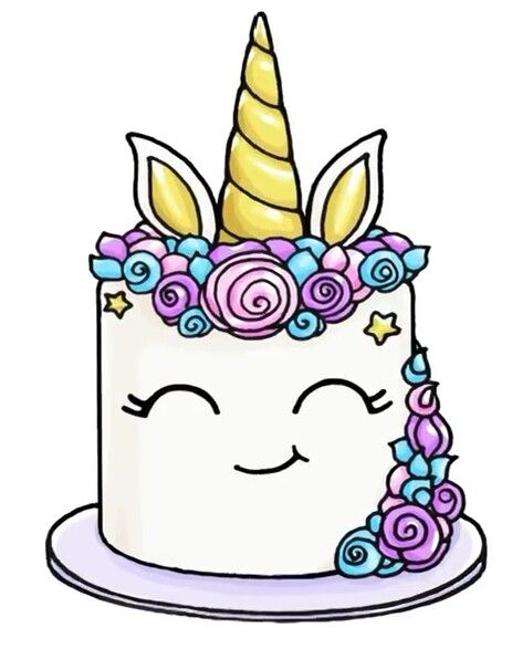 463x606 Unicorn Cake Unicorns, Cake And Kawaii