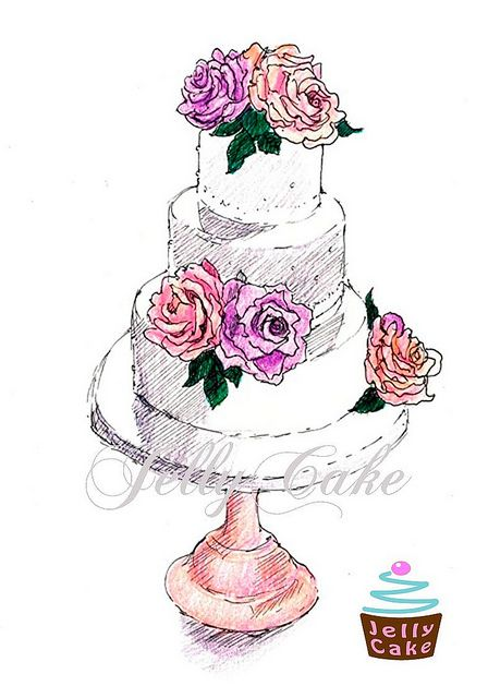448x640 45 Best Cake Draft Drawing Images On Cake Decorating
