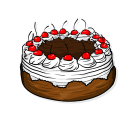 268x240 Search Photos Cake Drawing