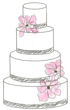 236x372 cake design Sketches and Cake