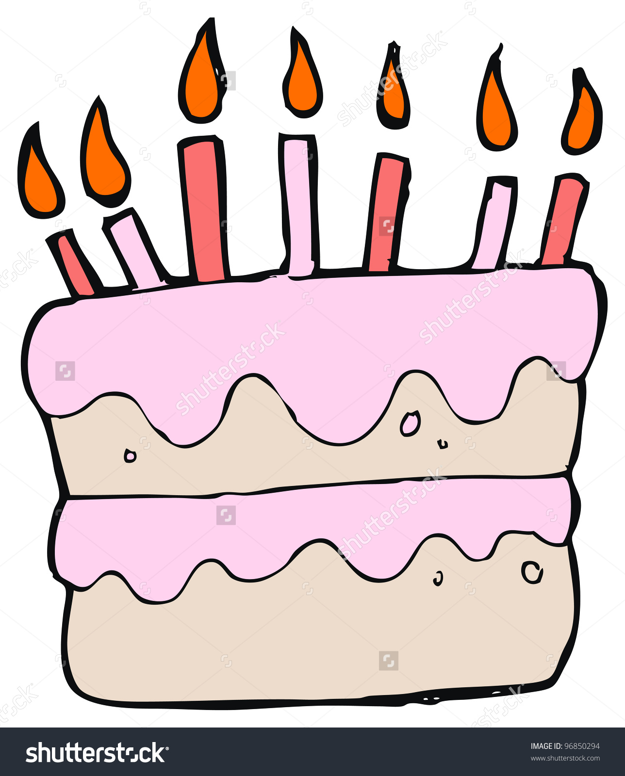 Cake Drawing Template At Getdrawings Com Free For Personal Use
